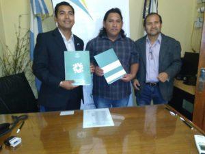 firma de convenio RINCONADA
